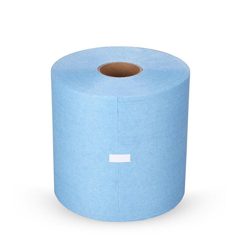 蓝色工业擦拭纸 吸水吸油纸