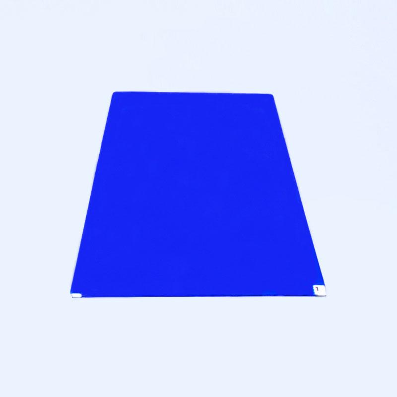 蓝色粘尘垫