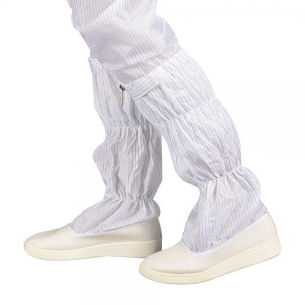 PU防静电鞋_防静电长筒鞋_无尘净化防护鞋
