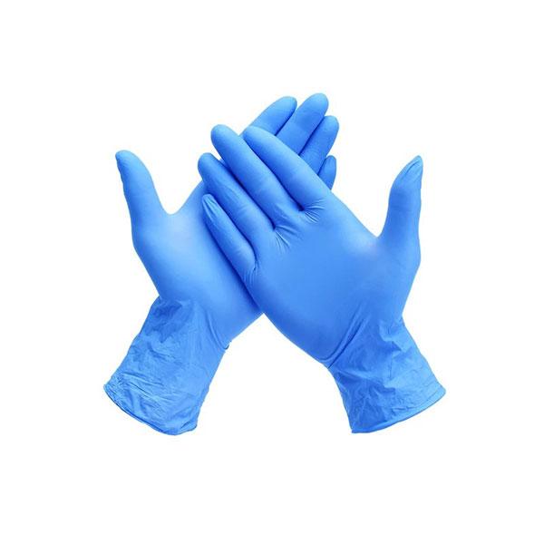 无菌12英寸蓝色丁腈手套