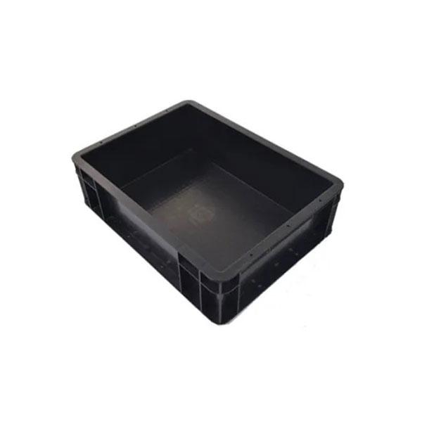 防静电周转箱_PP中空板周转箱_防静电塑料箱_带盖导电箱