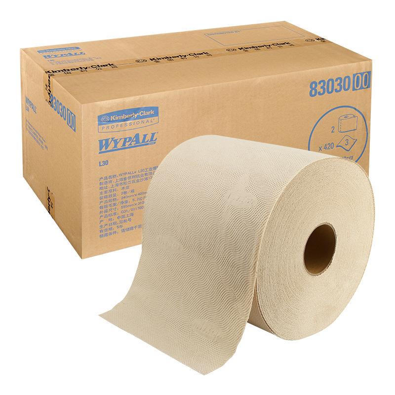 金佰利WYPALL L30 83030擦拭纸_工业大卷擦拭