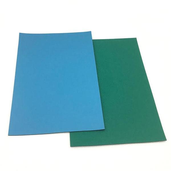 蓝色、灰色、绿色防静电垫
