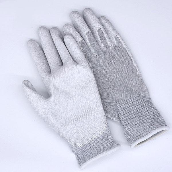 防静电涂掌碳纤维手套