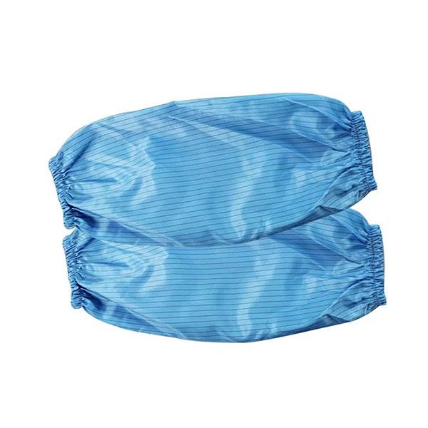防静电袖套_无尘条纹袖套_蓝色防静电袖套