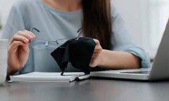 如何使用超细纤维眼镜布?