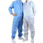 防静电服连体服和分体服如何区分?