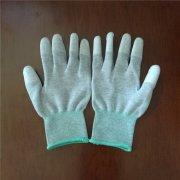 防静电PU涂层手套的材料成分